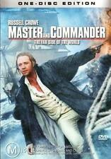 Master And Commander - The Far Side Of The World: One-Disc  - DVD - NEW Region 4