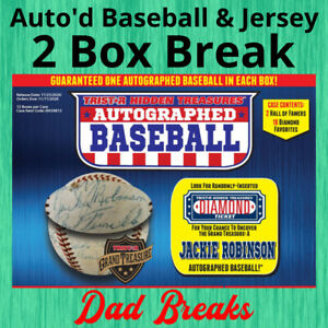 CHICAGO CUBS signed TriStar baseball + autographed jersey 2 BOX LIVE BREAK