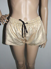 Polyester Wet look, Shiny Shorts for Women