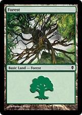 20 Basic Land #249a - SAME ART - Forest - Zendikar - SP/NM - Magic MTG FTG