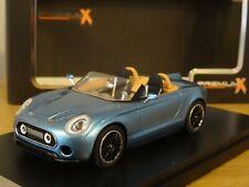 PREMIUM X MINI SUPERLEGGERA VISION CONCEPT 2014 BLUE CAR MODEL PR0480 1:43 RESIN