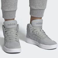 adidas Entrap Mid Sneakers Men's Lifestyle Comfy Shoes Grey
