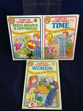 I Love to Learn About ... Lot of 3 Books Creative Child Press VG 1986 HB 190321