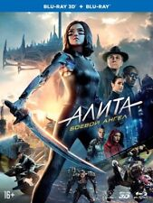 Alita: Battle Angel (Blu-ray 3D+2D+Artbook, 2019) En,Ru,Sp,Cz,Hin,Hun,Pol,Thai