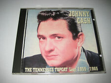 CD - Johnny Cash - The Tennessee Topcat Live 1955-1965