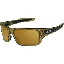 Oakley Turbine OO9263-02 Sunglasses Brown Smoke Frame Dark Bronze Lens 9263 02