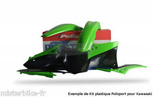 Kit plastiques Coque Polisport Kawasaki KX250F  2009-2012   Couleur:  Origine