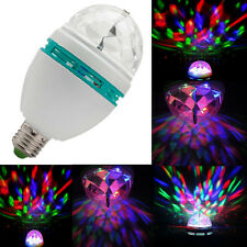 Rotating Disco KTV Bar DJ Club Party Stage Lighting LED RGB Crystal Ball Light