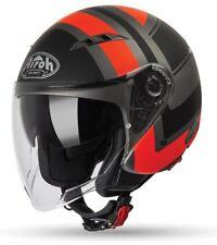 Casco jet Airoh City one Wrap arancione taglia XS orange helmet casque