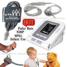 FDA Automatic New Born/Infant/Pediatric Blood Pressure Monitor SPO2 NIBP PR,USB