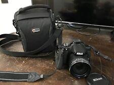 Nikon COOLPIX P530 16.1MP Digital Camera Black - Used Condition in Case - CN477