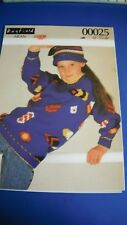 Hayfield Aran Children's Sweater Knitting Pattern 00025