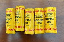 5 Rolls of Kodak Portra 400NC Expired 2011 Film 120