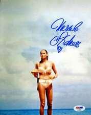 Ursula Andress Psa Dna Coa Hand Signed 8x10 Photo Original Autograph