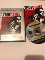 🥳 jeu playsation 2 ps2 ps3 fr true crime streets of la complet