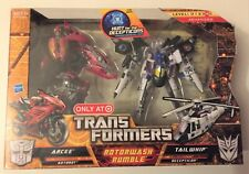 Transformers HFTD Rotorwash Rumble Target Exclusive NEW SEALED MINT!!