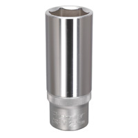 "S1222D Sealey WallDrive® Socket 22mm Deep 1/2""Sq Drive [Sockets Individual]"
