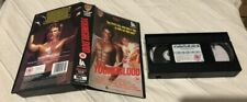 YOUNGBLOOD {VHS/PAL VIDEO} ROB LOWE, PATRICK SWAYZE. RARE & OOP ~ DELETED TITLE!