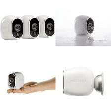 Arlo Security System - 3 Wire-Free HD Cameras, Indoor/Outdoor, Night Vision NEW