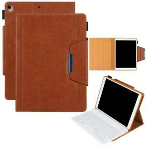 Keyboard Smart Flip Case Cover Wallet For iPad 5th 6th 7th 8th Gen Air 4 Pro 11