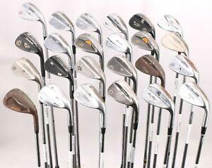 Lot of 24 Golf Wedges Ping Mizuno Titleist Cleveland Callaway PXG Watson RH
