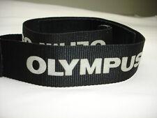 "Olympus camera neck strap 1 1/2"" Wide. Genuine Good condition  #002405"