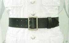 WW2 German Officer Double Claw Leather Belt Black
