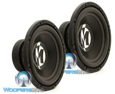 "(2) MEMPHIS PRX12D4 12"" SUBS 500W DUAL 4-OHM CAR SUBWOOFERS BASS SPEAKERS NEW"