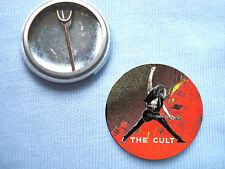 The Cult Sonic Temple 25mm Badge Ian Astbury Gothic Southern Death Cult