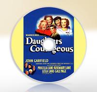 Daughters Courageous (1939) DVD Classic Comedy Drama Film / Movie John Garfield