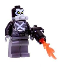 LEGO CROSSBONES MINIFIGURE AUTHENTIC Marvel Super Heroes w/ Weapon NEW 76050