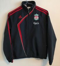Liverpool training jacket size 11-12 years black colour Adidas