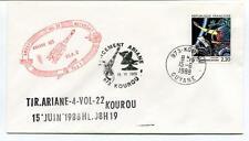 1988 Tirariane-4-Vol-22 Kourou Lancement Guyane Amsat Meteosat ELA2 SPACE