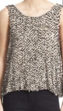 NWT Size L Free People Sequin Open Back Knit Shell