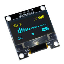 "0.96"" Yellow Blue I2C IIC 128X64 OLED Serial LCD LED Display Module for Arduino"