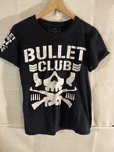 New Japan Pro Wrestling Bullet Club Ladies Shirt (Small) WWE NJPW
