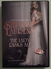 stephanie laurens THE LADY RISKS ALL    CD MP3