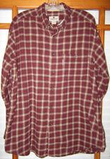Woolrich Flannel Shirt Men's Large Long Sleeve 6004