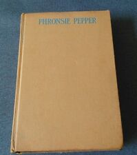 """Phronsie Pepper The Youngest of the """"Five Little Peppers"""" Sidney - 1937 - HC"""