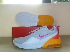 New Nike Womens Air Max Motion 2 Platinum Fuchsia Pink Running Shoes sz 9