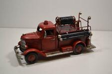 blech-auto, Pompieri, ca. 22 x 8 x 10,5 cm (6)