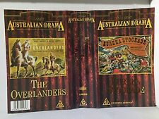 EUREKA STOCKADE & THE OVERLANDERS~RARE BRAND NEW & SEALED PAL VHS VIDEOS~194 MIN