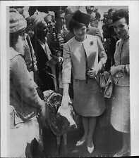 Jacqueline Kennedy & Princess Lee Radzieill in Pakistan Press Photo