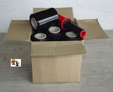Lot de 10 rouleaux de film étirable noir 23 µ 10 x 150 + 1 poignée offert