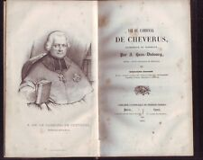 VIE DU CARDINAL DE CHEVERUS   PAR J DUBOURG  1841