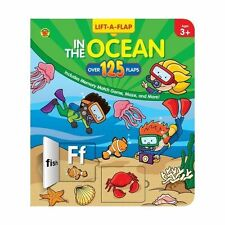 In the Ocean, Grades Preschool - K (125+ Lift-a-Flap)