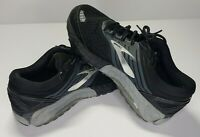 Mens Brooks Beast 18 Black Gray Running Shoe Size 9.5 Wide 2E