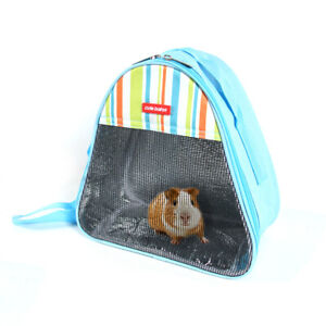 Pet Hamster Rats Carrier Bags Breathable Portable Travel Bag Cage for Squirrel