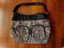 Skip Hop Diaper Bag w/ Front Pockets - Brown / Multi-Color