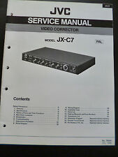Original Service Manual  JVC JX-C7